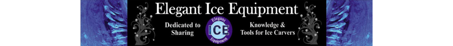 Ice Carving Tools and Ice Sculpting Tools Elegant Ice Equipment 2