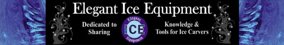 Ice Sculpting Tools Banner - Knowledge and Tools For Ice Carvers